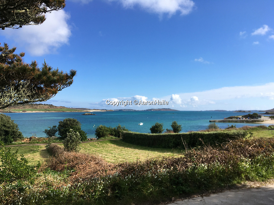 BNPS.co.uk (01202 558833)<br /> Pic:  AaronHaile/BNPS<br /> <br /> The couple's new home boasts gorgeous scenery.<br /> <br /> Not so scilly ...<br /> <br /> A couple who have swapped bustling London for the idyllic Isles of Scilly say they are loving their new life.<br /> <br /> Aaron Haile, 39, and her husband Mark Bothwick, 45, made the bold decision to quit the capital for the tiny island of Bryher off the Cornish coast.<br /> <br /> They have taken on the island's only general store which doubles as a post office for the outpost's 84 inhabitants - in stark contrast to London's 8.7million population.<br /> <br /> Their previous home was a two bedroom Lewisham flat in a tower block in south east London.
