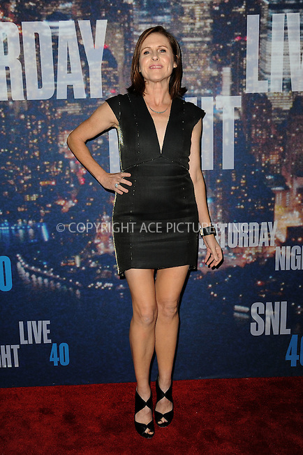 WWW.ACEPIXS.COM<br /> February 15, 2015 New York City<br /> <br /> Molly Shannon walks the red carpet at the SNL 40th Anniversary Special at 30 Rockefeller Plaza on February 15, 2015 in New York City.<br /> <br /> Please byline: Kristin Callahan/AcePictures<br /> <br /> ACEPIXS.COM<br /> <br /> Tel: (646) 769 0430<br /> e-mail: info@acepixs.com<br /> web: http://www.acepixs.com