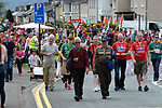 2-7-2017: Fans arriving at the Kerry V Cork Munster Football final in Killarney on Sunday.<br /> Photo: Don MacMonagle
