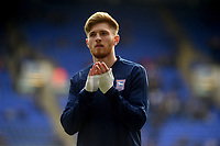 Ipswich Town's Teddy Bishop during the pre-match warm-up <br /> <br /> Photographer Hannah Fountain/CameraSport<br /> <br /> The EFL Sky Bet Championship - Ipswich Town v Birmingham City - Saturday 13th April 2019 - Portman Road - Ipswich<br /> <br /> World Copyright © 2019 CameraSport. All rights reserved. 43 Linden Ave. Countesthorpe. Leicester. England. LE8 5PG - Tel: +44 (0) 116 277 4147 - admin@camerasport.com - www.camerasport.com