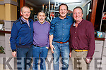 Tom and Tim O'Connor, Don O'Herlihy and John Moore enjoying their Christmas party in Benner Hotel on Saturday night,.