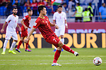 Nguyen Huy Hung of Vietnam in action during the AFC Asian Cup UAE 2019 Round of 16 match between Jordan (JOR) and Vietnam (VIE) at Al Maktoum Stadium on 20 January 2019 in Dubai, United Arab Emirates. Photo by Marcio Rodrigo Machado / Power Sport Images