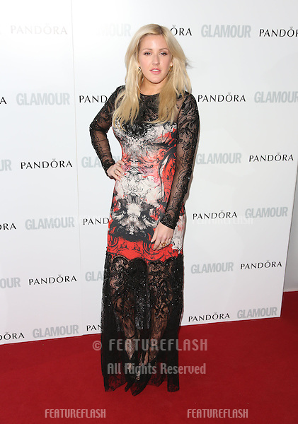 Ellie Goulding arriving for the 013 Glamour Women of The Year Awards, Berkeley Square, London. Picture by: Henry Harris / Featureflash