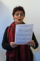 Lezione di canto del Maestro Giovanni Gava.Upter. L' Università popolare di Roma si occupa dell' apprendimento permanente degli adulti.Popular University of Rome is responsible for Life Long Learning.