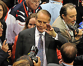 St. Paul, MN - September 3, 2008 -- Former United States Senator Bob Dole (Republican of Kansas), the 1996 Republican nominee for President, makes his way through the floor on day 3 of the 2008 Republican National Convention at the Xcel Energy Center in Saint Paul, Minnesota on Wednesday, September 3, 2008.Credit: Ron Sachs / CNP.(RESTRICTION: NO New York or New Jersey Newspapers or newspapers within a 75 mile radius of New York City)