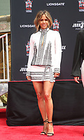 HOLLYWOOD, CA - MAY 14: Halle Berry, at the Keanu Reeves Hand And Foot Print Ceremony at the TCL Chinese Theatre IMAX in Hollywood, California on May 14, 2019. <br /> CAP/MPIFM<br /> &copy;MPIFM/Capital Pictures