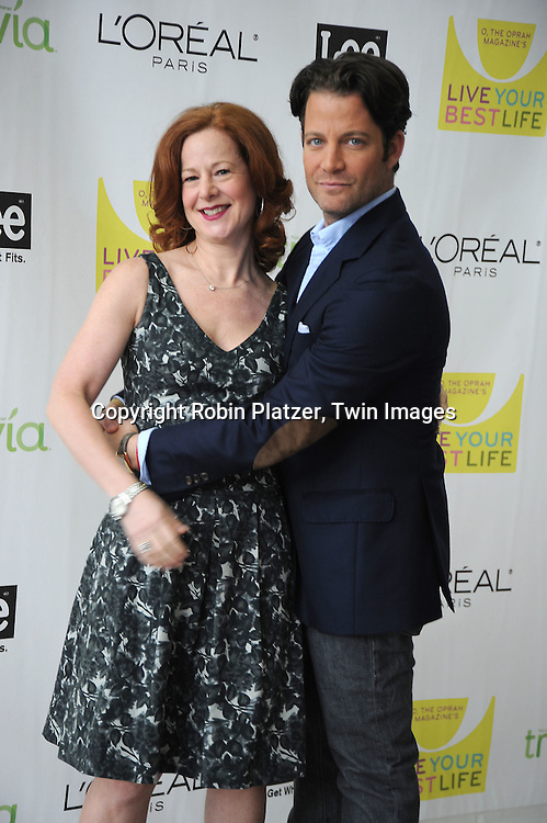 """Jill Seelig, O VP/ Publisher and Nate Berkus arriving at O, The Oprah Magazine's  Celebration of  it's 10th Anniversay at the """"Live Your Best Life"""" event at The Jacob Javits Center on May 8, 2010."""