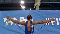 Izabella Chiappini Riscaldamento. Warm up <br /> Trieste 15/01/2019 Centro Federale B. Bianchi <br /> Women's FINA Europa Cup 2019 water polo<br /> Italy ITA - Nederland NED <br /> Foto Andrea Staccioli/Deepbluemedia/Insidefoto