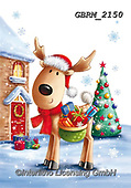 Roger, CHRISTMAS ANIMALS, WEIHNACHTEN TIERE, NAVIDAD ANIMALES, paintings+++++,GBRM2150,#xa#