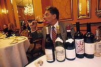 """Amérique/Amérique du Nord/USA/Etats-Unis/Vallée du Delaware/Pennsylvanie/Philadelphie : Georges Perrier dans son restaurant """"Le Bec Fin"""" 1523 Walnut Street"""