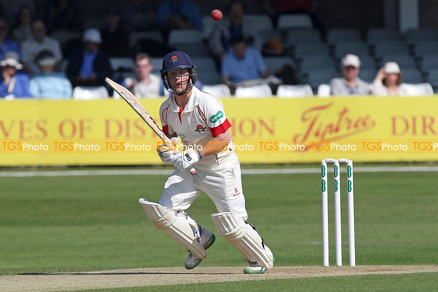 Alex Davies in batting action for Lancashire during Essex CCC vs Lancashire CCC, Specsavers County Championship Division 1 Cricket at The Cloudfm County Ground on 9th April 2017