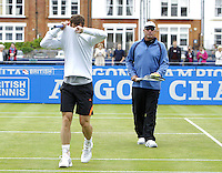 130611 Tennis - Queens Aegon Championships Day 2