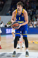 Khimki Moscow Alexey Shved during Turkish Airlines Euroleague match between Real Madrid and Khimki Moscow at Wizink Center in Madrid, Spain. November 02, 2017. (ALTERPHOTOS/Borja B.Hojas) /NortePhoto.com