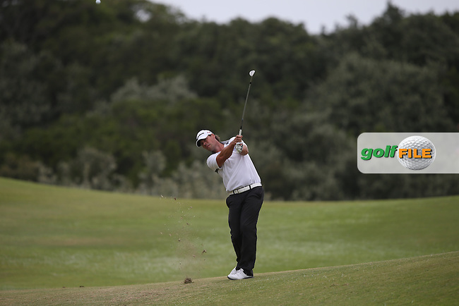 Mikael Lundberg (SWE) plays second shot to the 6th during Round Two of the Africa Open 2015 at the East London Golf Club, East London, Eastern Cape, South Africa. Picture:  David Lloyd / www.golffile.ie. 06/03/2015