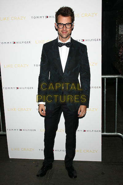 "Brad Goreski .The New York Premiere of ""Like Crazy"" at the Landmark Sunshine Cinema, New York, NY, USA..October 18th, 2011.full length black tuxedo bow tie white shirt glasses .CAP/LNC/TOM.©TOM/LNC/Capital Pictures."