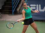 August  15, 2018:  Madison Keys (USA) defeated Camila Giorgi (ITA) 6-2, 6-2, at the Western & Southern Open being played at Lindner Family Tennis Center in Mason, Ohio. ©Leslie Billman/Tennisclix/CSM