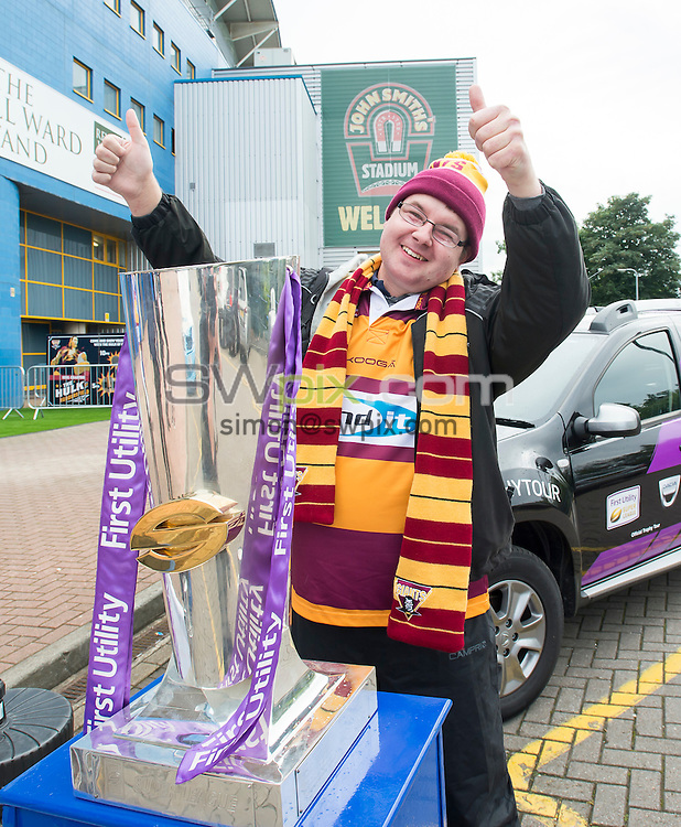 Picture by Allan McKenzie/SWpix.com - 30/06/16 - Rugby League - Dacia Trophy Tour - John Smiths Stadium, Huddersfield, England - Fans and supporters.