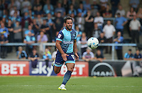 Sam Wood of Wycombe Wanderers in action during the Sky Bet League 2 match between Wycombe Wanderers and Colchester United at Adams Park, High Wycombe, England on 27 August 2016. Photo by Andy Rowland.