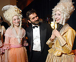 Abby Bushnell, Stanton Welch and Laura Whitby at the Ballet Ball at the Wortham Theater Saturday Feb. 21, 2009.(Dave Rossman/For the Chronicle)