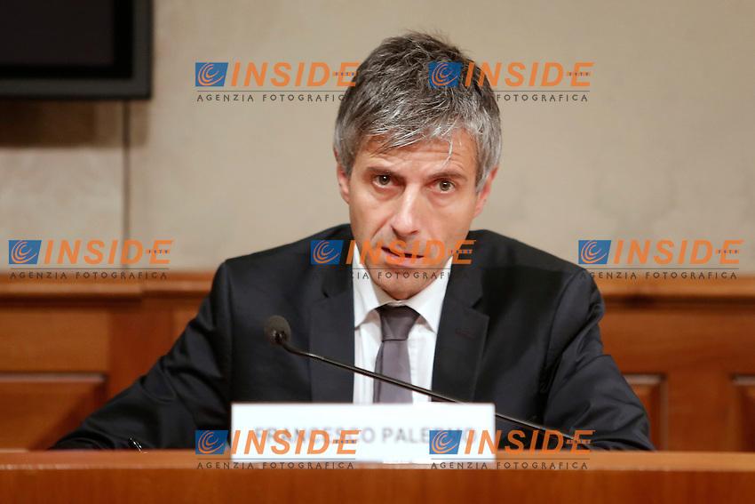 Francesco Palermo<br /> Roma 11-05-2016 Senato, Sala Nassirya. Convegno sui Servizi Segreti.<br /> Photo Samantha Zucchi Insidefoto