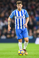 Pascal Gross of Brighton & Hove Albion (13)  during the EPL - Premier League match between Brighton and Hove Albion and Burnley at the American Express Community Stadium, Brighton and Hove, England on 16 December 2017. Photo by Edward Thomas / PRiME Media Images.