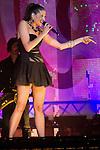 02.06.2012. Natalia Jimenez performs during in the ´Cadena 100´ 20 th anniversary Concert at the stadium Vicente Calderon in Madrid. In the image: Natalia Jimenez  (Alterphotos/Marta Gonzalez)