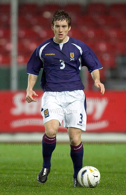 Scott Morrison, Scotland u21.stock season 2004-2005.pic willie vass