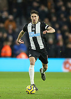 Newcastle United's Federico Fernandez<br /> Photographer Lee Parker/CameraSport<br /> <br /> The Premier League - Wolverhampton Wanderers v Newcastle United - Saturday 11th January 2020 - Molineux - Wolverhampton<br /> <br /> World Copyright © 2020 CameraSport. All rights reserved. 43 Linden Ave. Countesthorpe. Leicester. England. LE8 5PG - Tel: +44 (0) 116 277 4147 - admin@camerasport.com - www.camerasport.com