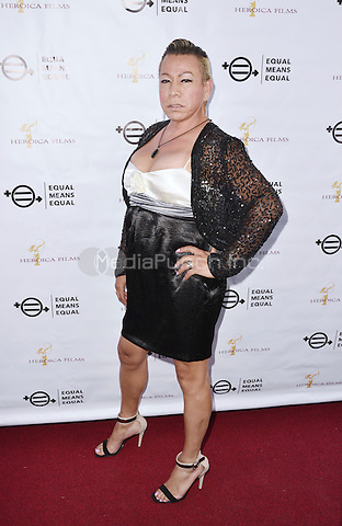 BEVERLY HILLS, CA - AUGUST 26: Bamby Salcedo attends the &quot;Equal Means Equal&quot; Special Screening at the Music Hall on August 20, 2016 in Beverly Hills, CA. <br />