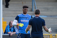 New Loanee Jamal Blackman of Wycombe Wanderers during the Sky Bet League 2 match between Wycombe Wanderers and Accrington Stanley at Adams Park, High Wycombe, England on 16 August 2016. Photo by Andy Rowland.