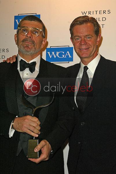 David Mamet and William H. Macy