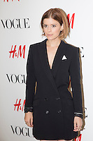 Kate Mara, H&M Vogue Event on September 4, 2014 (photo by Travis W Keyes/Guest Of A Guest