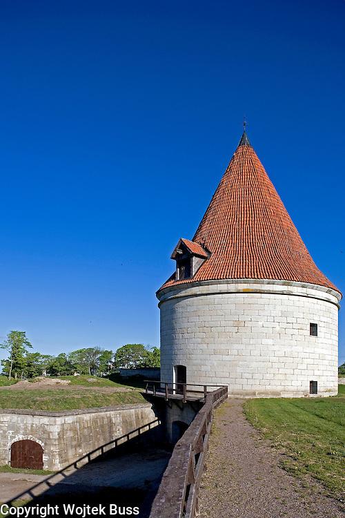 Estonia,Saaremaa Island,Kuressaare,castle,fortification