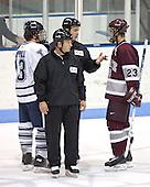 Joe Zappala, Jon Smyth - Colgate University defeated Yale University 6-2 at Ingalls Rink in New Haven, CT on November 5, 2005.
