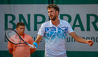 Paris, France, 27 May, 2018, Tennis, French Open, Roland Garros, Robin Haase (NED) <br /> Photo: Henk Koster/tennisimages.com