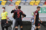 Schlussjubel Heiko HERRLICH  (Trainer FC Augsburg) <br />mit Marek SUCHY (FC AUGSBURG).<br /><br />Fussball 1. Bundesliga, 33.Spieltag, Fortuna Duesseldorf (D) -  FC Augsburg (A), am 20.06.2020 in Duesseldorf/ Deutschland. <br /><br />Foto: AnkeWaelischmiller/Sven Simon/ Pool/ via Meuter/Nordphoto<br /><br /># Editorial use only #<br /># DFL regulations prohibit any use of photographs as image sequences and/or quasi-video #<br /># National and international news- agencies out #