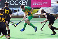 Capital v Central men. 2019 National Hockey Under-18 Tournament at National Hockey Stadium in Wellington, New Zealand on Monday, 8 July 2019. Photo: Dave Lintott / lintottphoto.co.nz