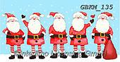 Kate, CHRISTMAS SANTA, SNOWMAN, WEIHNACHTSMÄNNER, SCHNEEMÄNNER, PAPÁ NOEL, MUÑECOS DE NIEVE, paintings+++++Christmas page 106 1,GBKM135,#x# ,bus