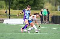 Allston, MA - Sunday July 31, 2016: Samantha Witteman, Brooke Elby during a regular season National Women's Soccer League (NWSL) match between the Boston Breakers and the Orlando Pride at Jordan Field.