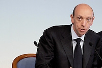 Roma, 26 Mar 2012.Palazzo Chigi.Italiacamp - Centro di idee per lo sviluppo del Paese .Antonio Mastrapasqua, Presidente INPS