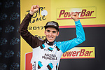 Romain Bardet (FRA) AG2R La Mondiale wins Stage 12 of the 104th edition of the Tour de France 2017, running 214.5km from Pau to Peyragudes, France. 13th July 2017.<br /> Picture: ASO/Pauline Ballet | Cyclefile<br /> <br /> <br /> All photos usage must carry mandatory copyright credit (&copy; Cyclefile | ASO/Pauline Ballet)