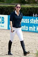 Jessica Springsteen beim Global Jumping Berlin 2017 in der Arena im Sommergarten der Messe Berlin. Berlin, 28.07.2017