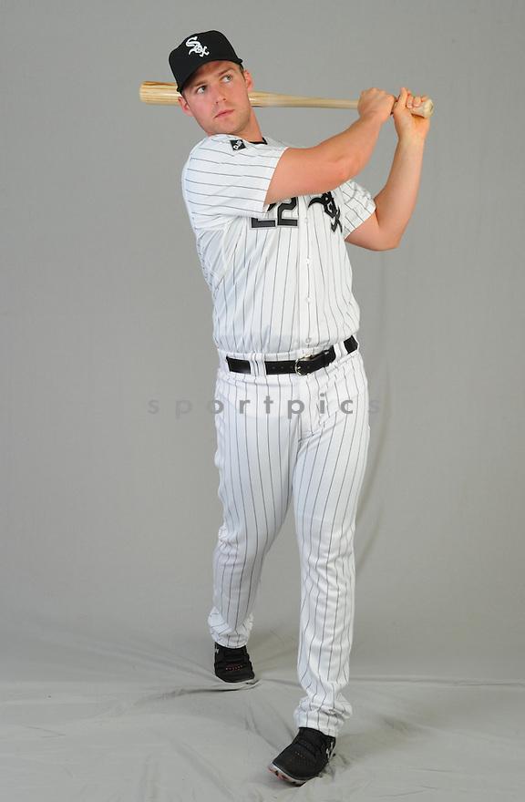 Chicago White Sox Matt Davidson (22) during photo day on February 28, 2015 in Glendale, AZ.