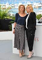 Novelist Delphine de Vigan &amp; Emmanuelle Seigner at the photocall for &quot;Based on a True Story&quot; at the 70th Festival de Cannes, Cannes, France. 27 May 2017<br /> Picture: Paul Smith/Featureflash/SilverHub 0208 004 5359 sales@silverhubmedia.com