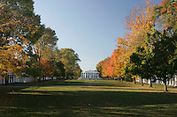 Fall colors at UVa 2005. Photo/ Andrew Shurtleff lawn pavilion