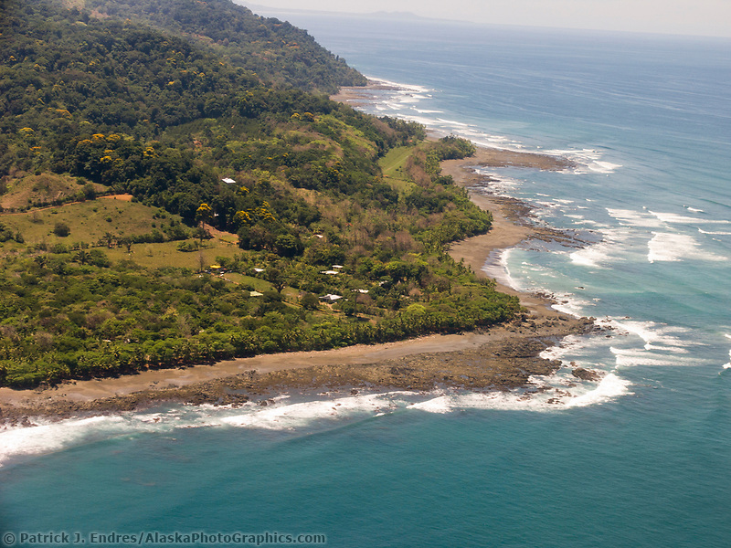 Pacific coast of Southern Costa Rica, Central America