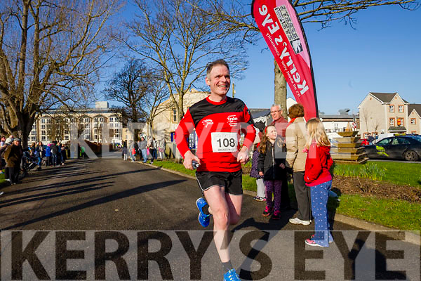 Joe Doyle, pictured at the Kerry's Eye Valentines Weekend 10 mile road race on Sunday.