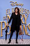 Elia Galera attends to Mary Poppins Returns film premiere at Kinepolis in Pozuelo de Alarcon, Spain. December 11, 2018. (ALTERPHOTOS/A. Perez Meca)