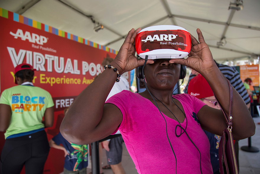 AARP Block Party at Coconut Grove Arts Festival, on Sunday February 19, 2017 in Miami, Florida.<br /> Jesus Aranguren/AP Images for AARP