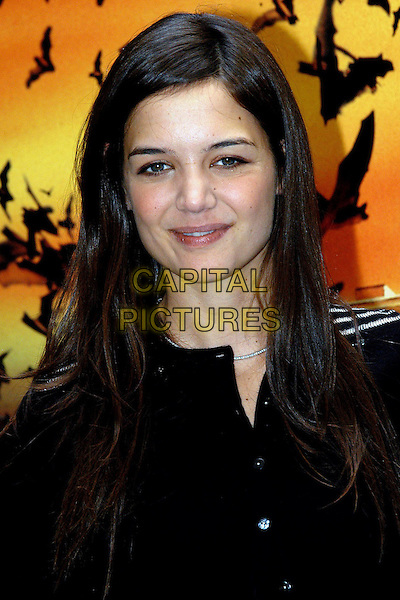 "KATIE HOLMES.""Batman Begins"" Photocall.Rome, Itlay, June 16th 2005..portrait headshot.Ref: OME.www.capitalpictures.com.sales@capitalpictures.com.?Omega/Capital Pictures."